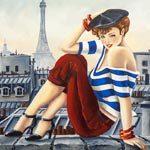 Baiser à Paris